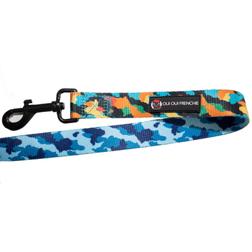 Oui Oui Frenchie Leash - Camo