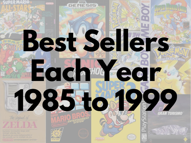 The Best-Selling Video Game of Every Year (1985-1999)