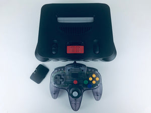 N64 System with Expansion Pak & Atomic Purple Controller