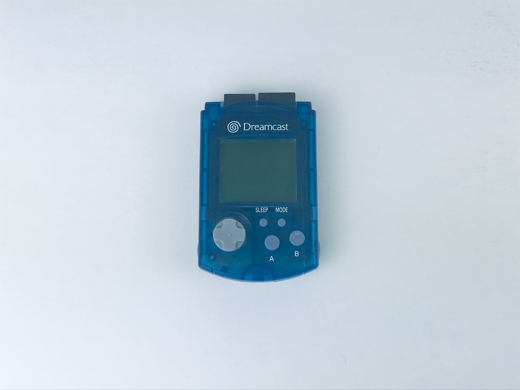 Blue Dreamcast VMU - Memory Unit