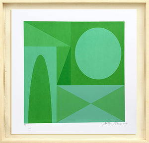 Green4 // Antonio Peticov