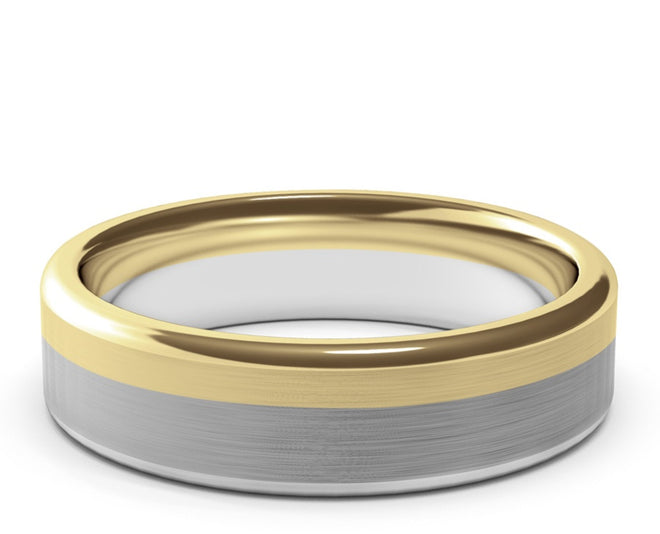 Fortunus • Two-Tone Gold • 4mm - 7mm