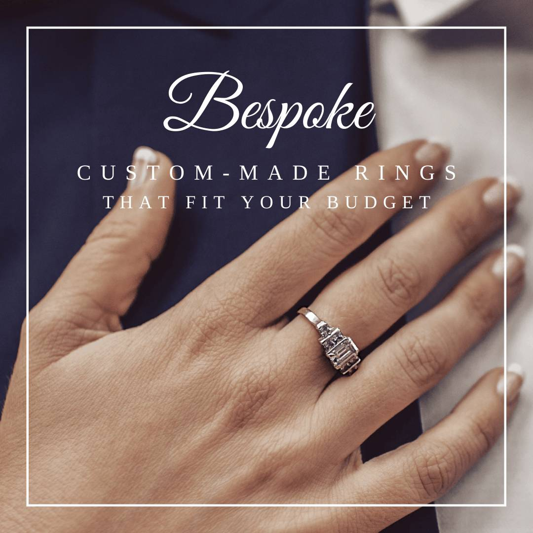 Custom engagement rings bespoke rings, hand made diamaond ring