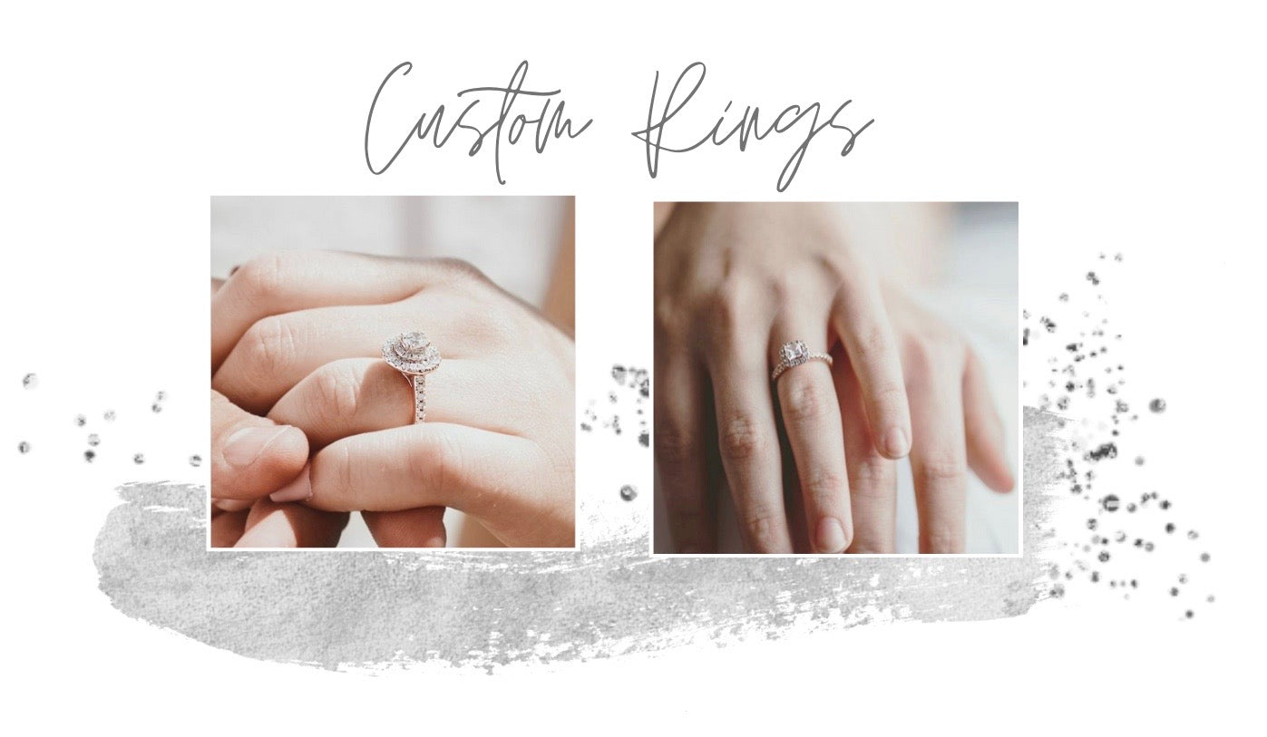custom engagement rings, diamond ring, gold ring, white gold, rose gold, yellow gold