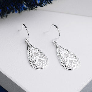 Bellina Teardrop Hook Earrings