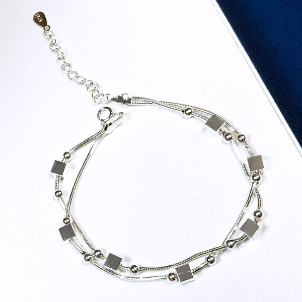 Cubed Multi-Layer Bracelet