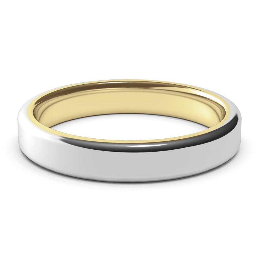 Nostromo · 18k Two-Tone Gold · 4mm