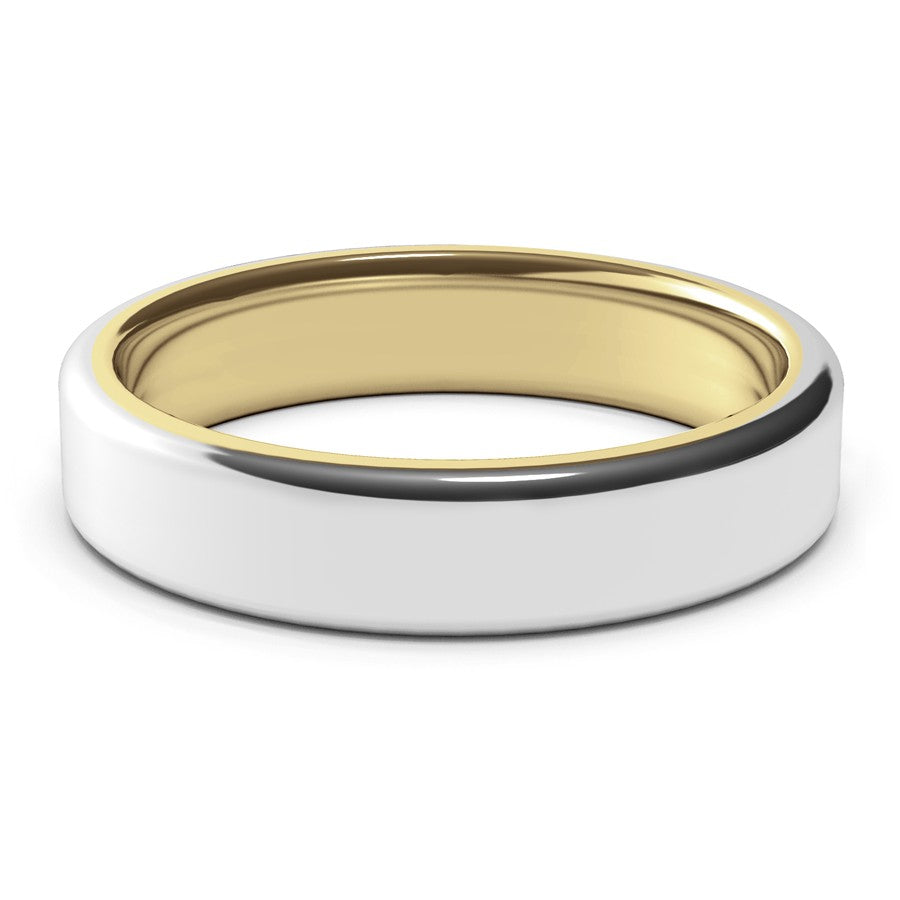 Nostromo · 18k Two-Tone Gold · 5mm