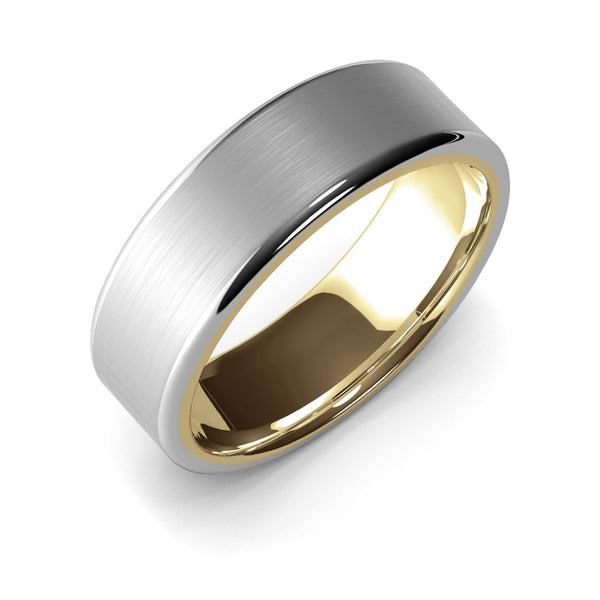 Themisto · 18k Two-Tone Gold · 7mm