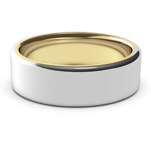 Nostromo · 18k Two-Tone Gold · 7mm