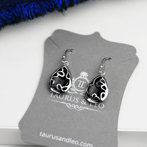 Pavia Teardrop Hook Earrings