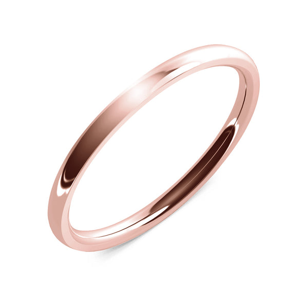 Halcyon · 18k Rose Gold · 2mm