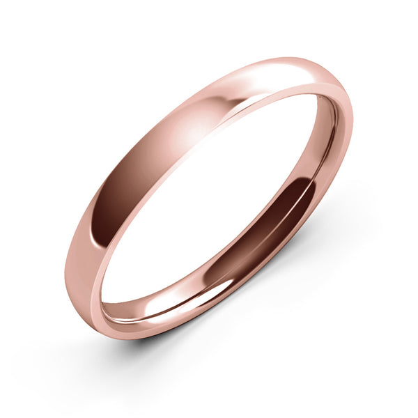 Halcyon · 18k Rose Gold · 3mm
