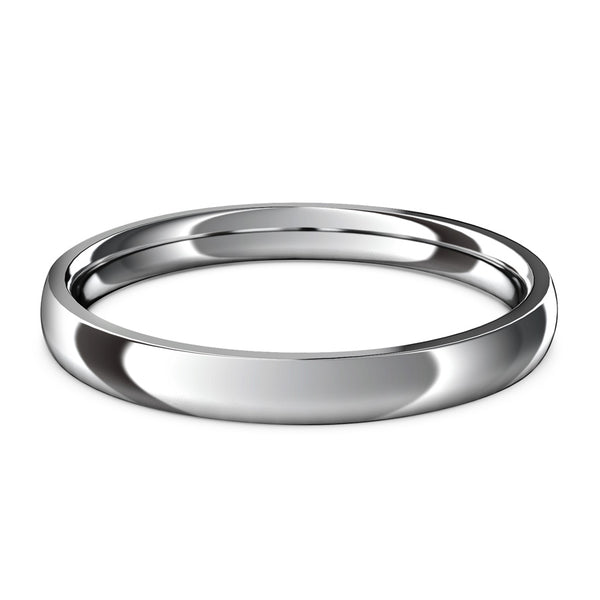 Casini · 18k White Gold · 3mm