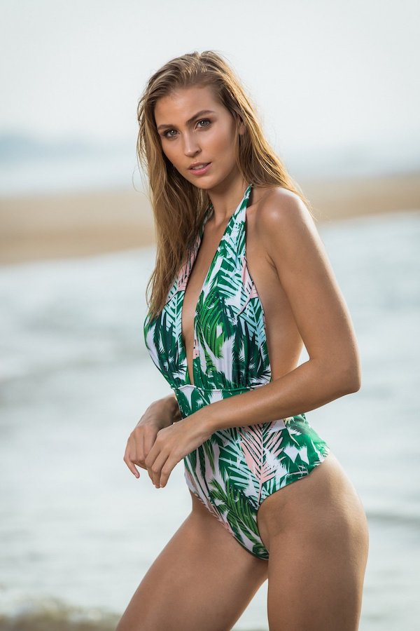 tropical goddess ink bikini full set or pink one piece swimsuit from Golden Sands Bikini Australian Swimwear. Not just a Swimwear brand, we promote a life style to young females who are confident and comfortable in their own skins, loves the environment a