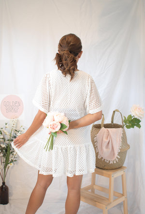 Taylor White Lace | Summer Dress