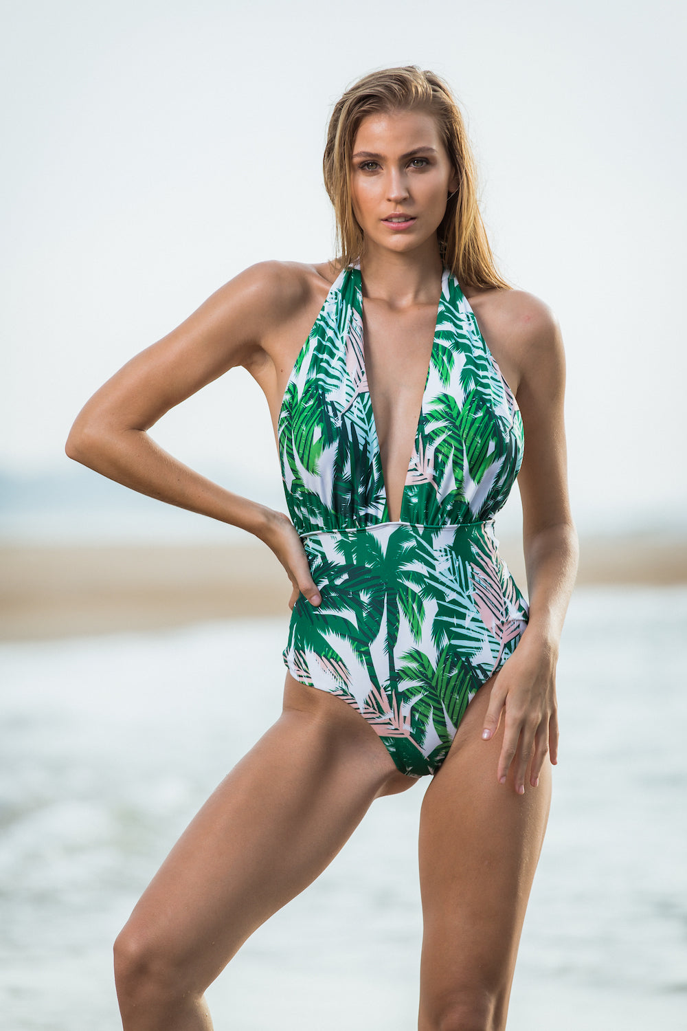 Golden Sands Bikini Swimwear from Melbourne Australia An online bikini brand. Tropical Goddess One Piece is in one piece collection, Australian design brand with a touch of tropical vibes. Best swimwear brand for 2019
