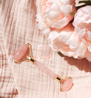 Shop home DIY facial skincare tools at Golden Sands Bikini. Australia based. Afterpay is available. Pore Cleansers | Home Microdermabrasion | Jade Roller | Rose quartz roller