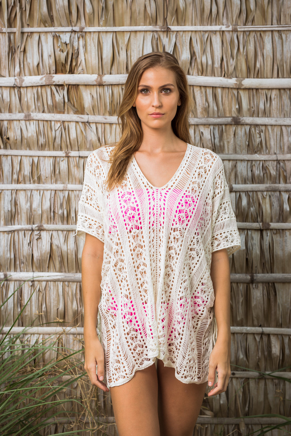 0fbfc404e9518 Beach Kaftan - Bohemian Romance White Wear the gentle touch of the sunset  and let your