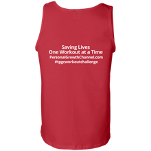 Load image into Gallery viewer, Gildan 100% Cotton Tank Top - Saving Lives One Workout at a Time Series