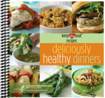 Deliciously Healthy Dinners Cookbook - Printed