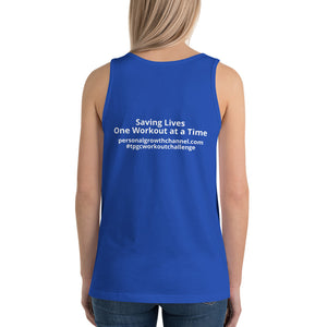 Unisex  Tank Top - Saving Lives One Workout at a Time