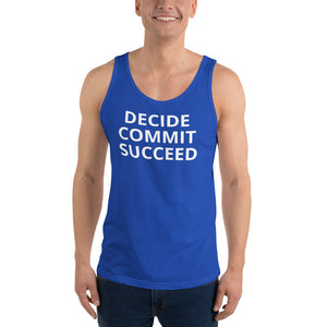 Workout Challenge Unisex Tank Top - Saving Lives One Workout at a Time