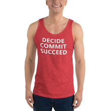 Load image into Gallery viewer, Workout Challenge Unisex Tank Top - Saving Lives One Workout at a Time