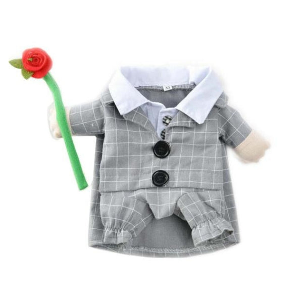 Plaid Halloween Costume / Dress Up Suit