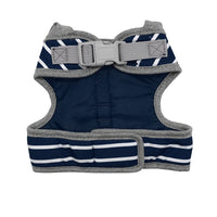 Striped Dog Hoodie Harness with Leash