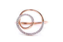"Anillo Double Circle 18K ""Life Collection"""