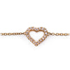 Brazalete Corazón 18K ´´Everyday Collection´´