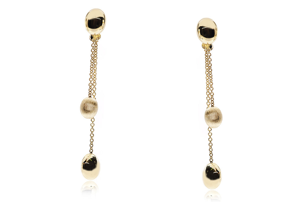 "Aretes Chimento (Italia) ""Acqua Collection"" 18K"