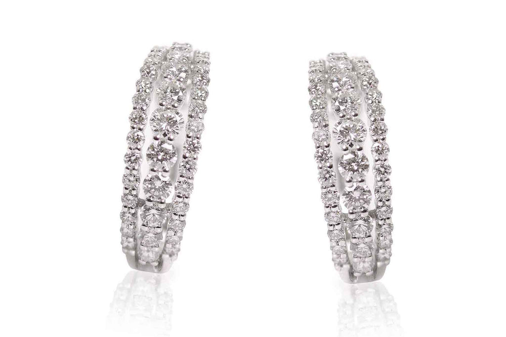Aretes Moonlight con 1.44ct en diamantes y 18K