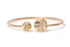 Brazalete NANIS (Italy) Amarcord Collection 18K y 0.05ct en diamantes naturales