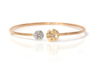 Brazalete NANIS (Italy) Amarcord Collection 18K y 0.19ct en diamantes naturales