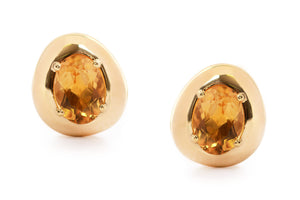 Aretes Brumani Corcovado Collection 18K, fino Citrino (M33272)