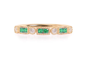 Anillo M&M´s Little Box Collection 18K con diamantes de 0.10ct