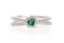 Anillo ''Emerald Heart'' 18k / 0.37ct tw