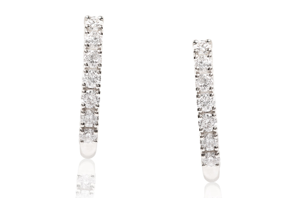 "ARETES ""EVERYDAY"" CON 0.25CTTW DE DIAMANTES Y 18K (M33556)"