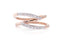 Anillo Breuning SHINNING Collection, Diamantes naturales, 18K (M34354)