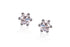 Aretes Pure Love Collection Breuning 14K, y Diamantes de 0.30ct tw,