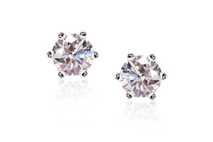 Aretes Pure Love Collection Breuning 14K, y Diamantes de 0.50ct tw
