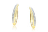 Aretes ''Stretch Volta'' 18k / 0.32 ct (m35104)