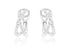 Aretes ''Cross Roads'' 18k  / 0.48 cttw