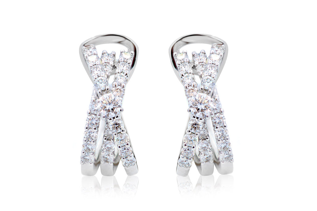 Aretes Sexy Crivelli 18K / 0.70cttw