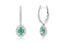 "Aretes Crivelli ""Classic Collection"" 18K / 0.41 cttw. (M35142)"