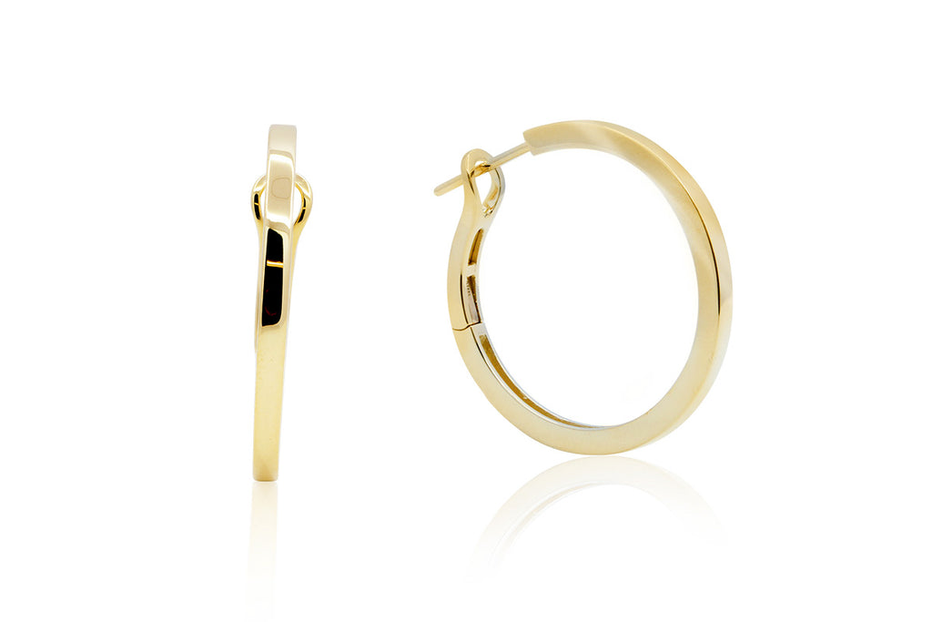 "Arracadas Breuning ""Hoop"" collection, 18K (M35216)"