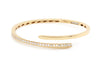 Brazalete ''Diamond Curve'' 18k / 0.80ct