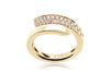 ANILLO ''DIAMOND CURVE 2'' 18K / 0.40CT